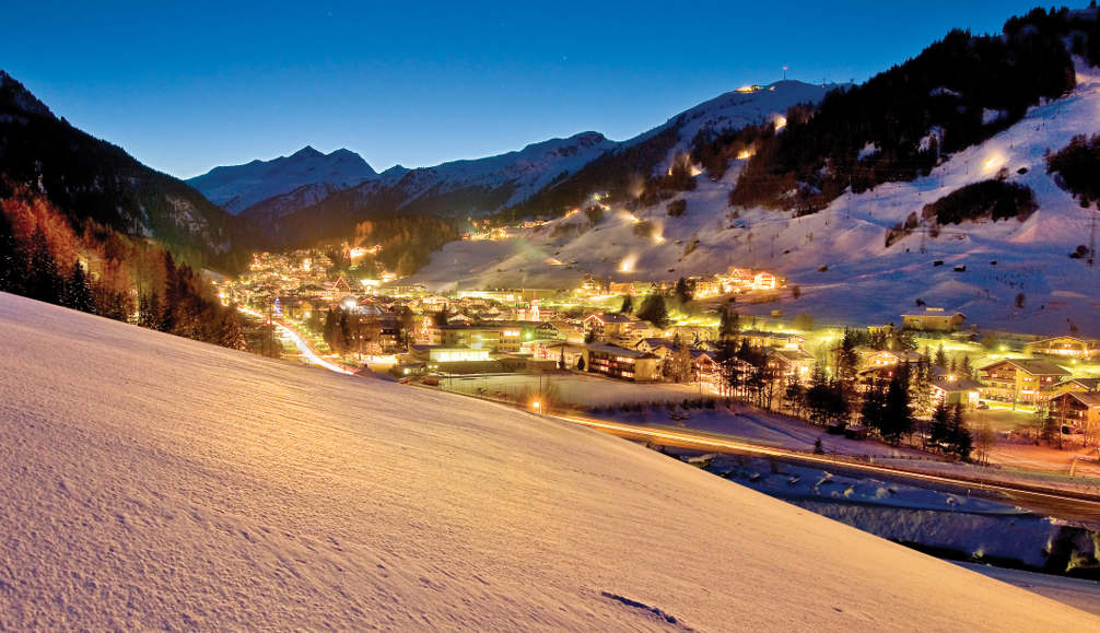 St.Anton from the slopes