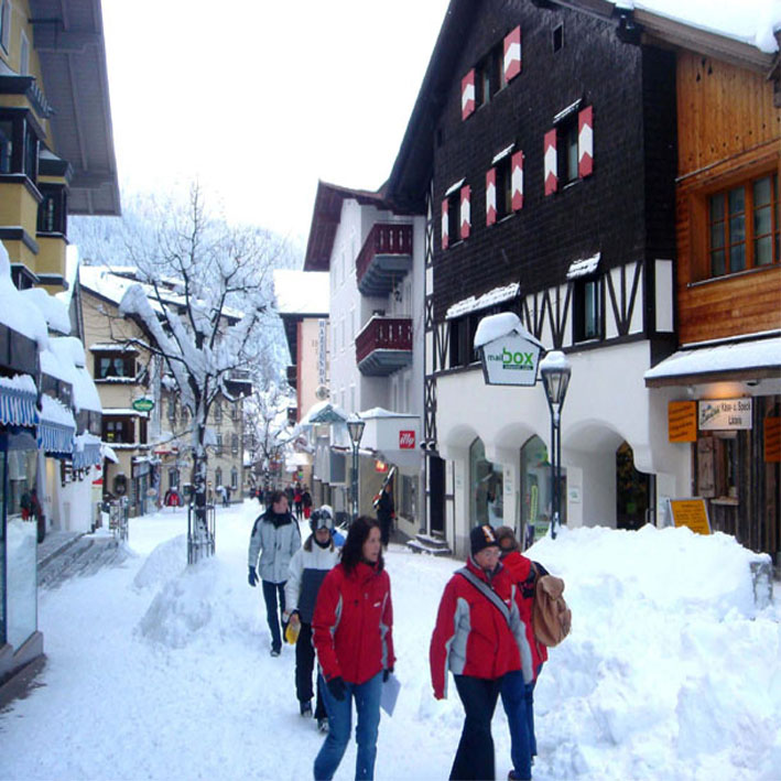 Village centre St.Anton