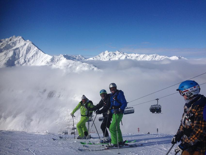 Skiing St Anton