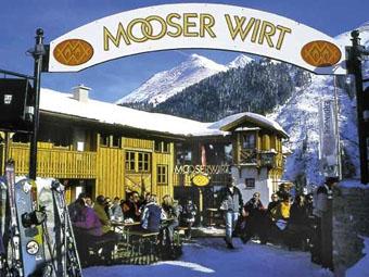 Mooserwirt lunch in St Anton
