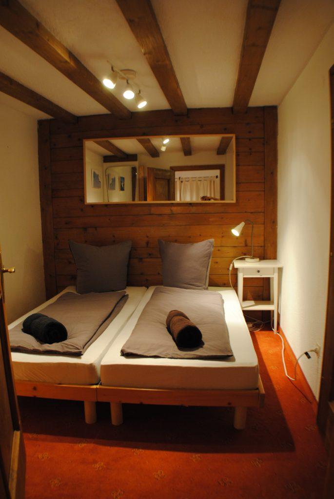 St.Anton village centre apartment double bedroom