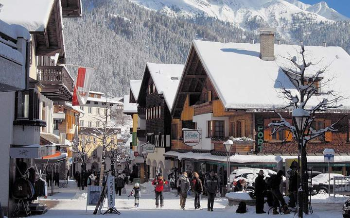 St.Anton village centre