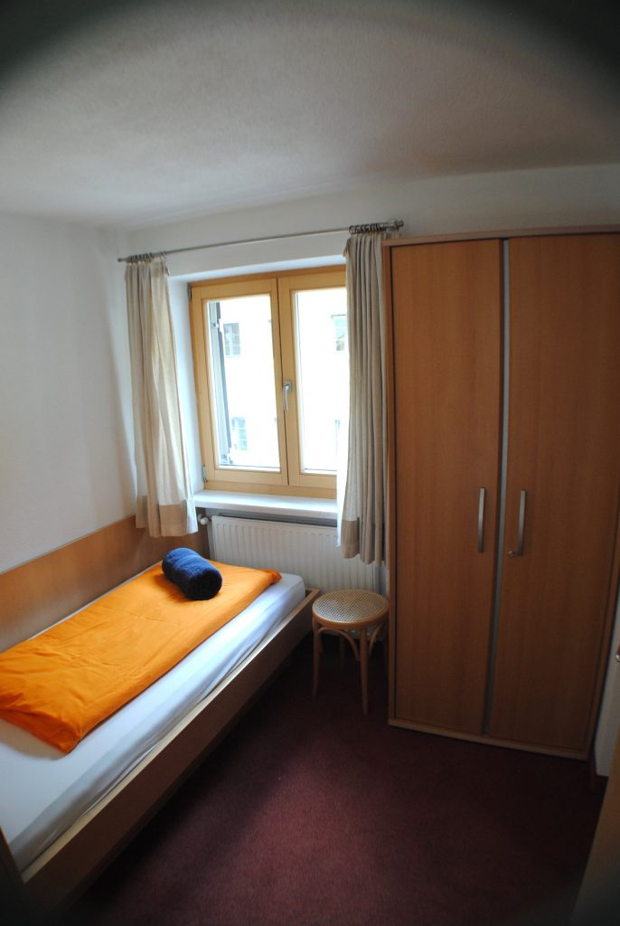 Chalet Scherl Single bedroom