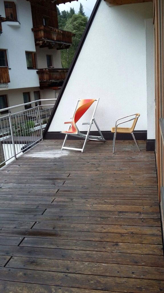 Back bedroom balcony