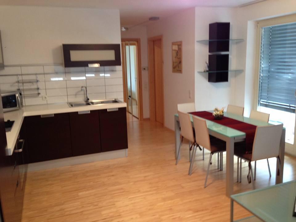 Living area in St.Anton apartment