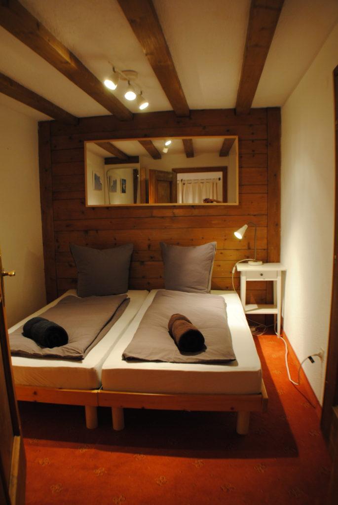 Village centre apartment in St.Anton - bedroom