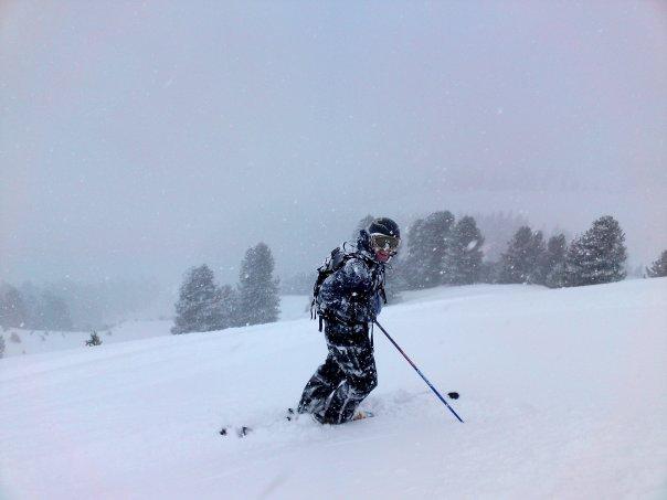 Bachseite with Fresh Powder snow