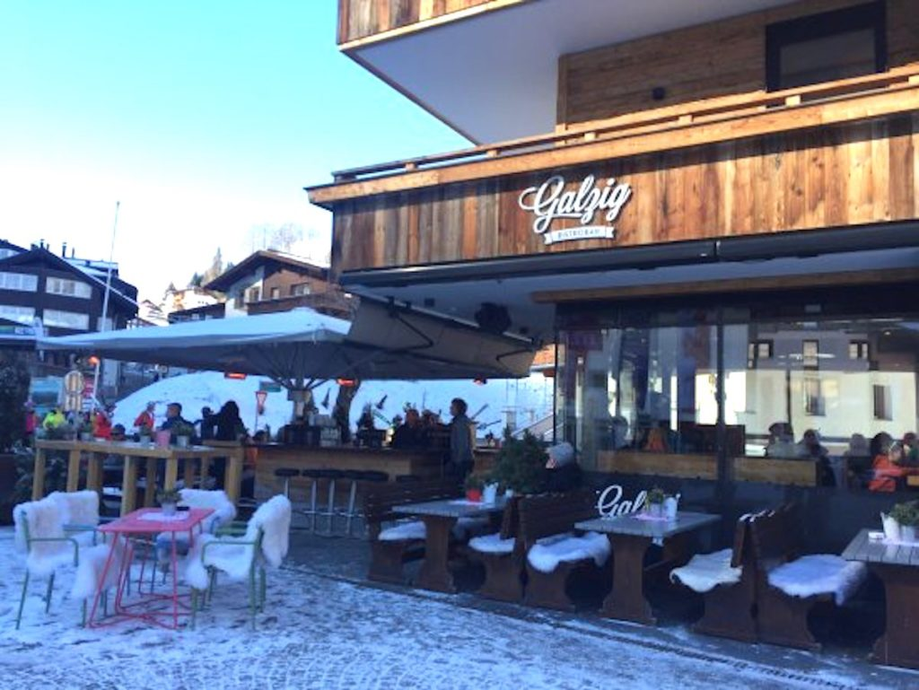 One of the best places for lunch is St Anton village is the Galzig Bistro