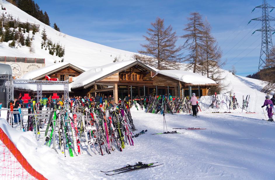 Heustadl apres ski bar St.Anton