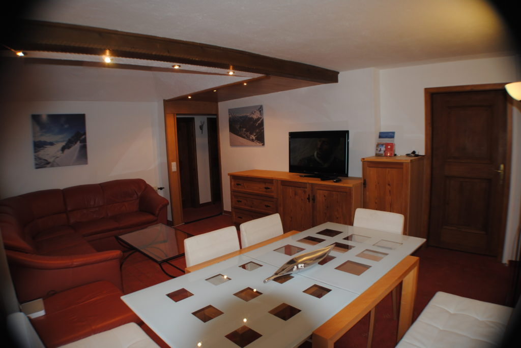 Living Room in St.Anton four bedroom village centre apartment