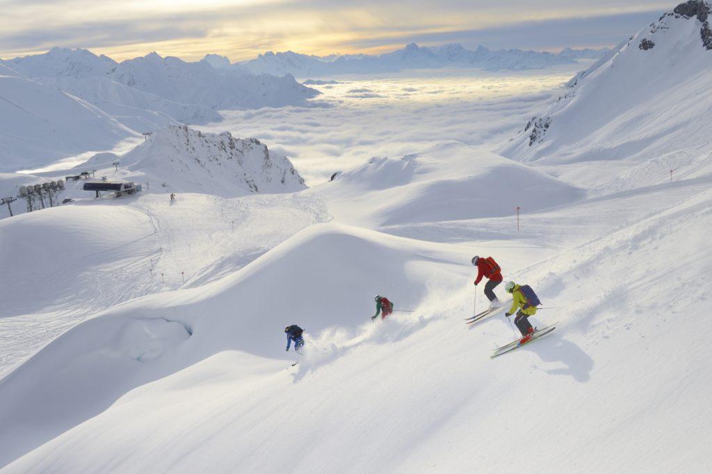 Off Piste Skiing St Anton