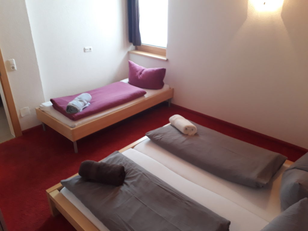 Triple room in St Anton ski in out apartment