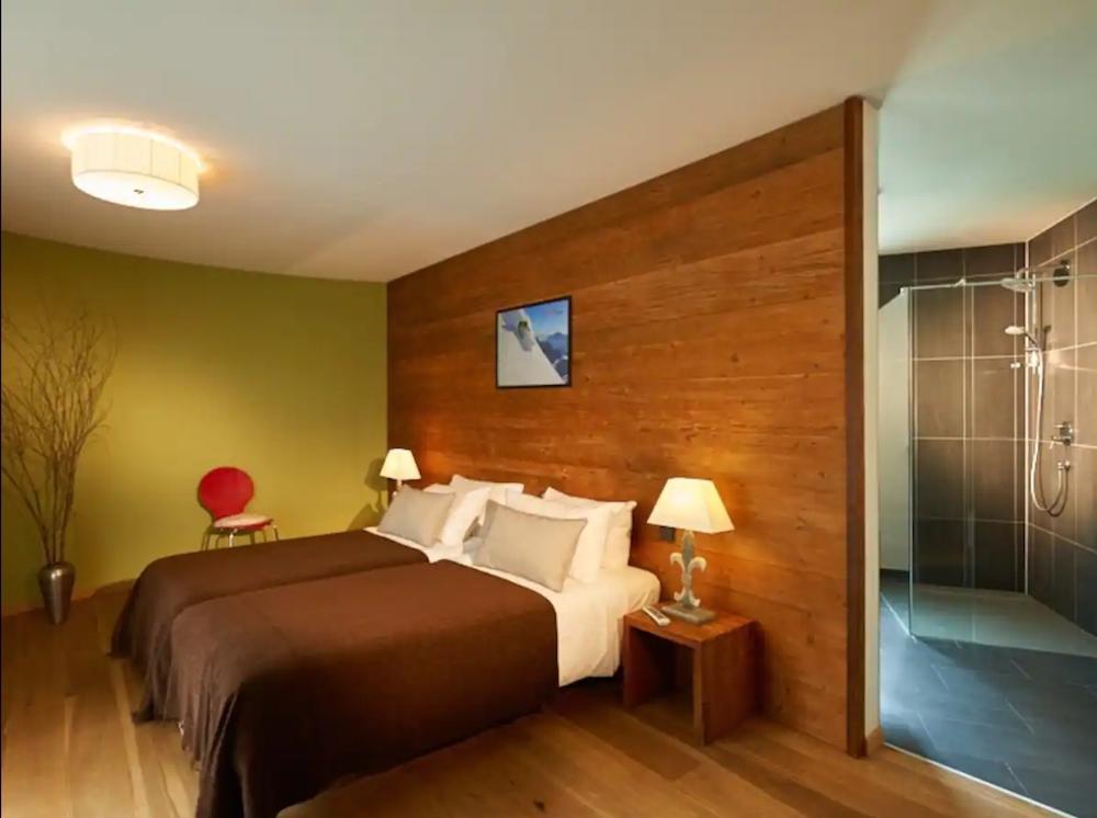 Bedroom in St.Anton Luxury Chalet