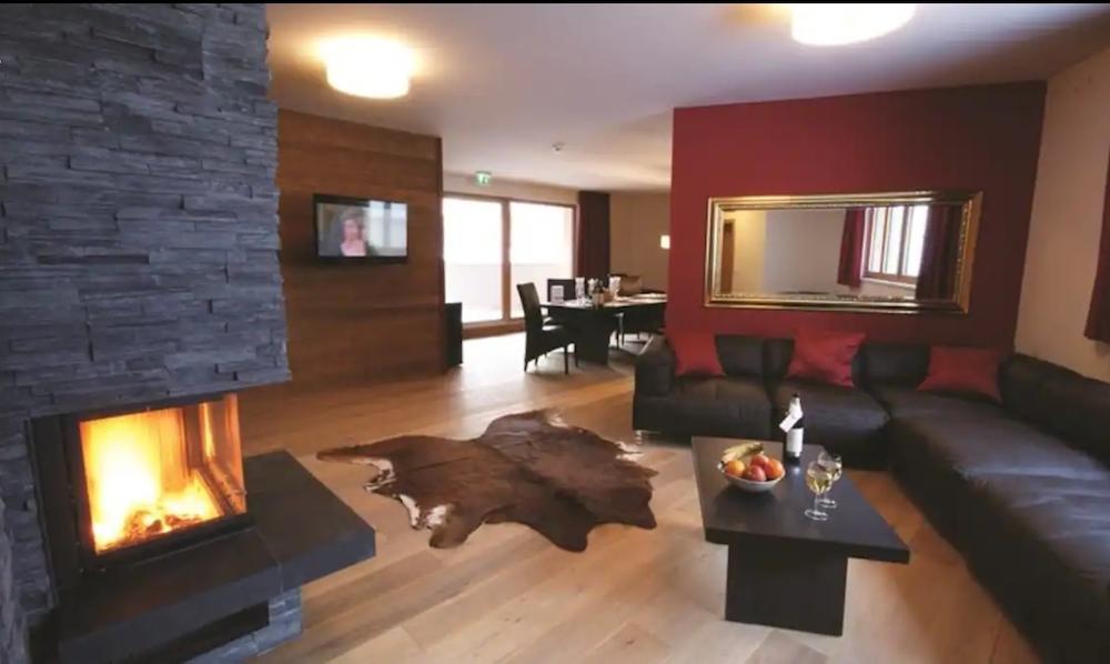St.Anton Luxury Chalet Living Room