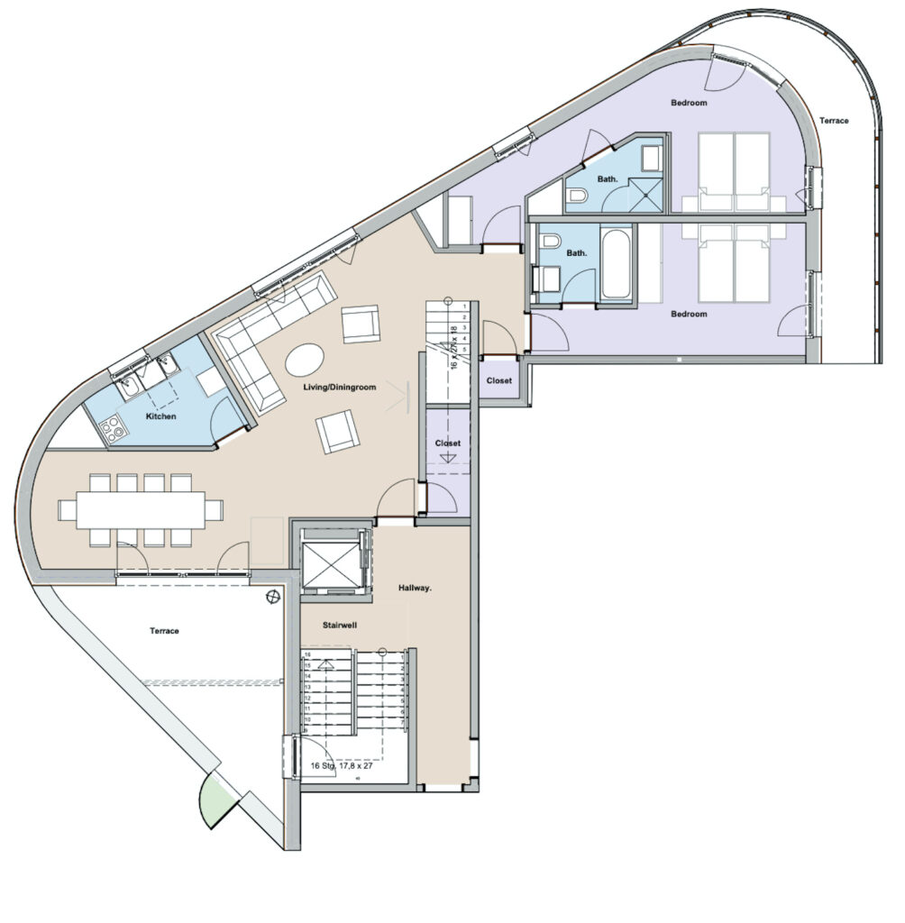 Lodge 2 Ground Floor 1