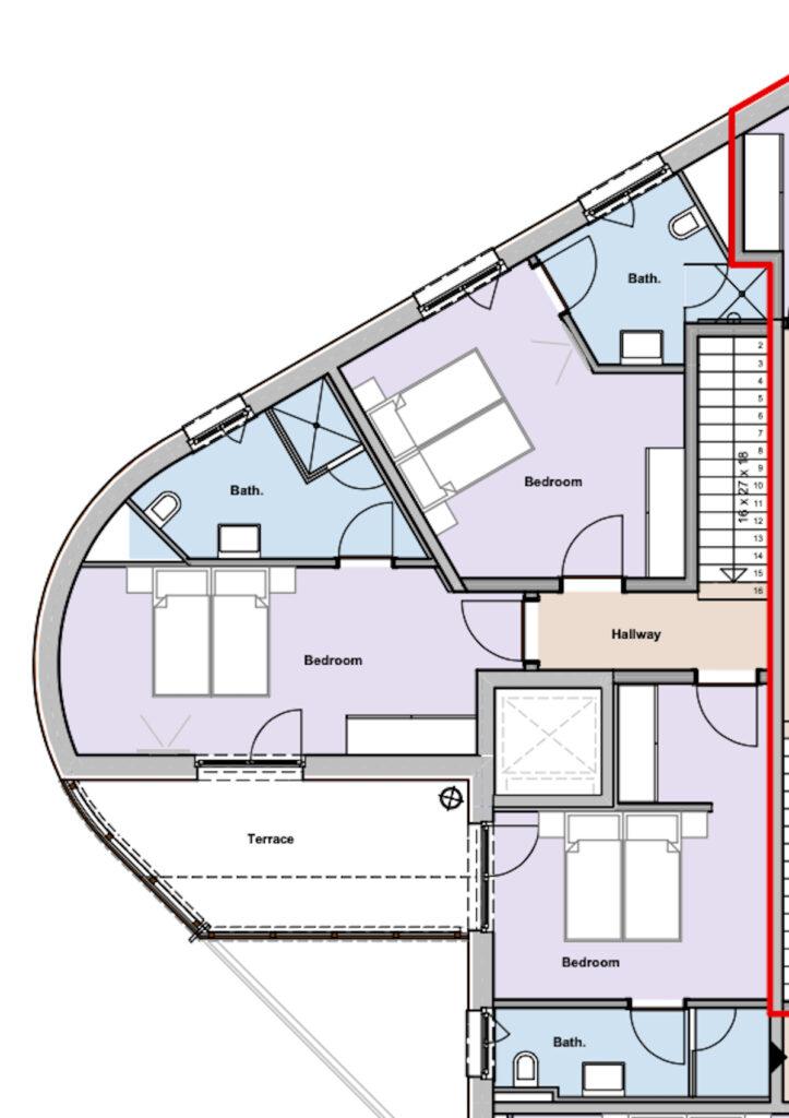 Lodge 2 Upstairs